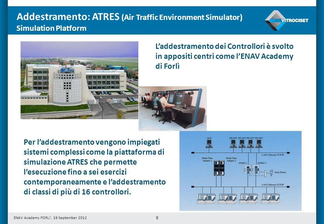 Addestramento: ATRES (Air Traffic Environment Simulator)