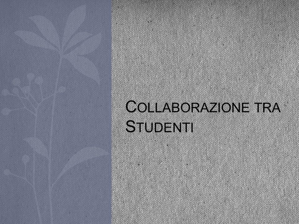 Collaborazione tra Studenti