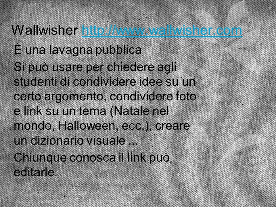 Wallwisher http://www.wallwisher.com