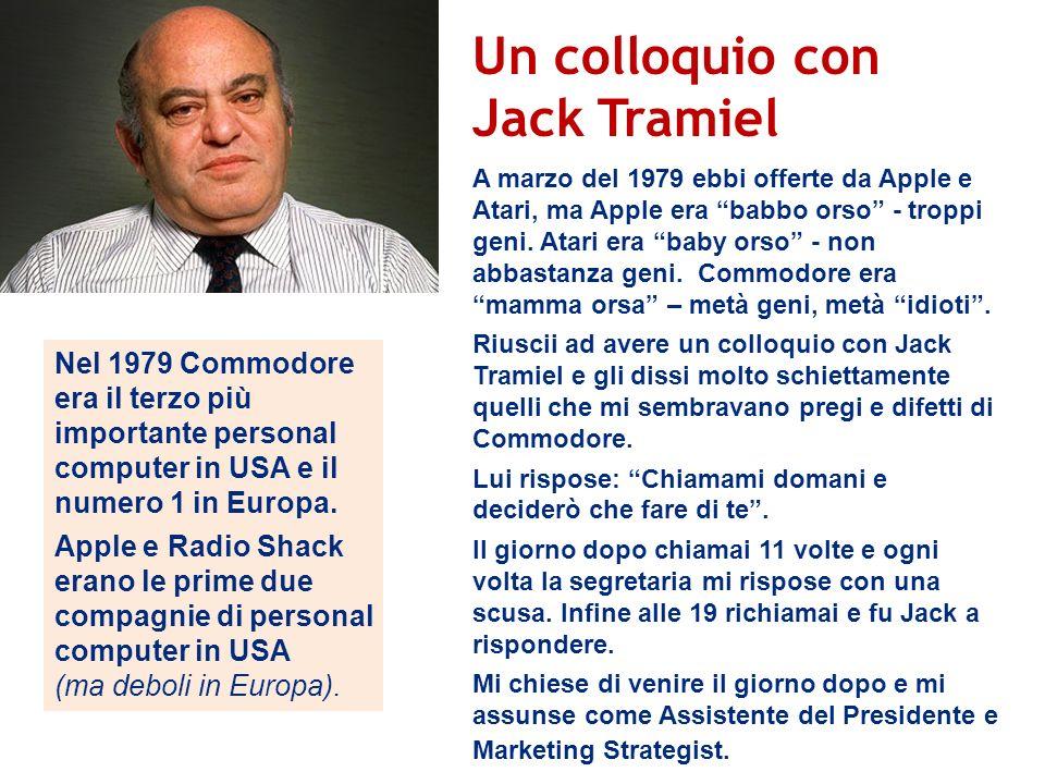 Un colloquio con Jack Tramiel