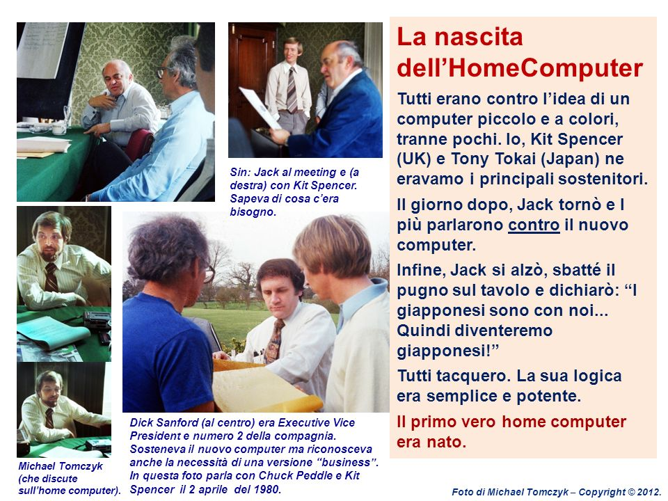 La nascita dell'HomeComputer