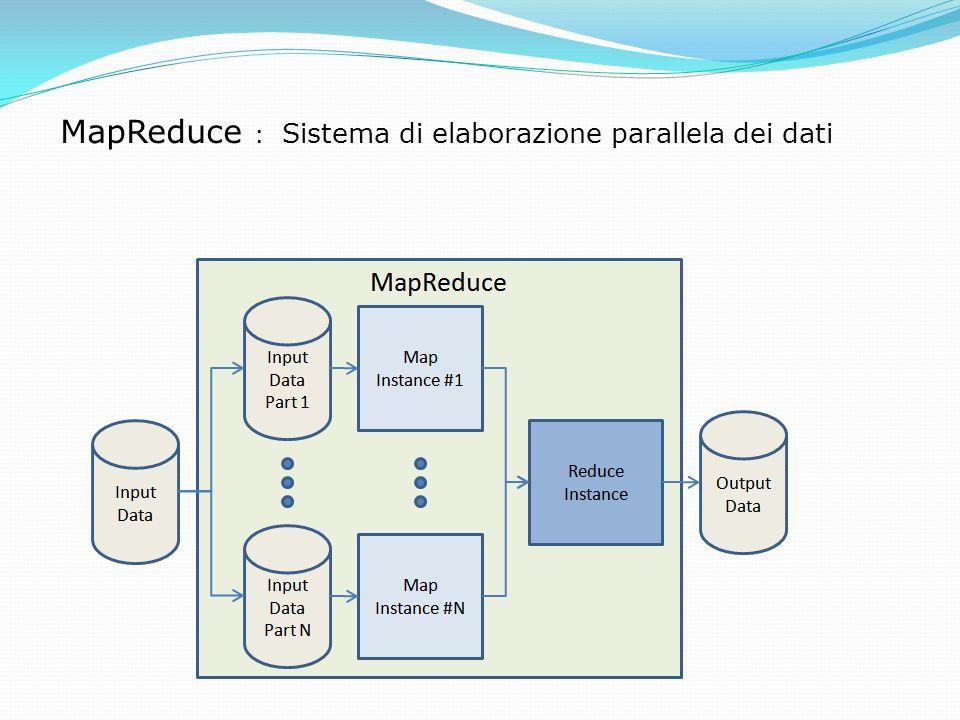 MapReduce : Sistema di elaborazione parallela dei dati