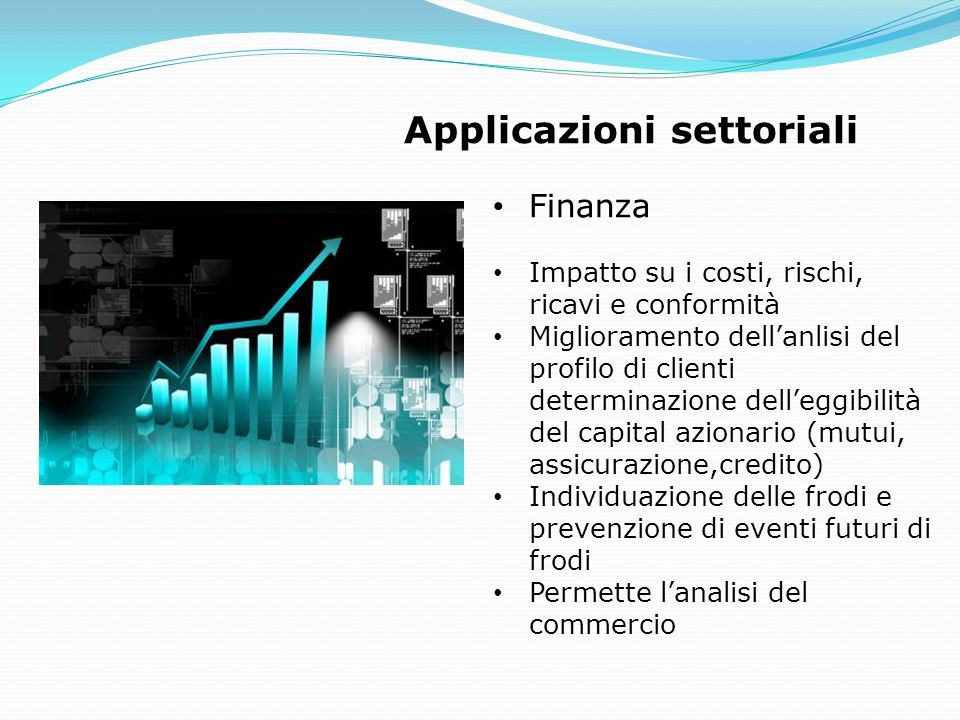 Applicazioni settoriali