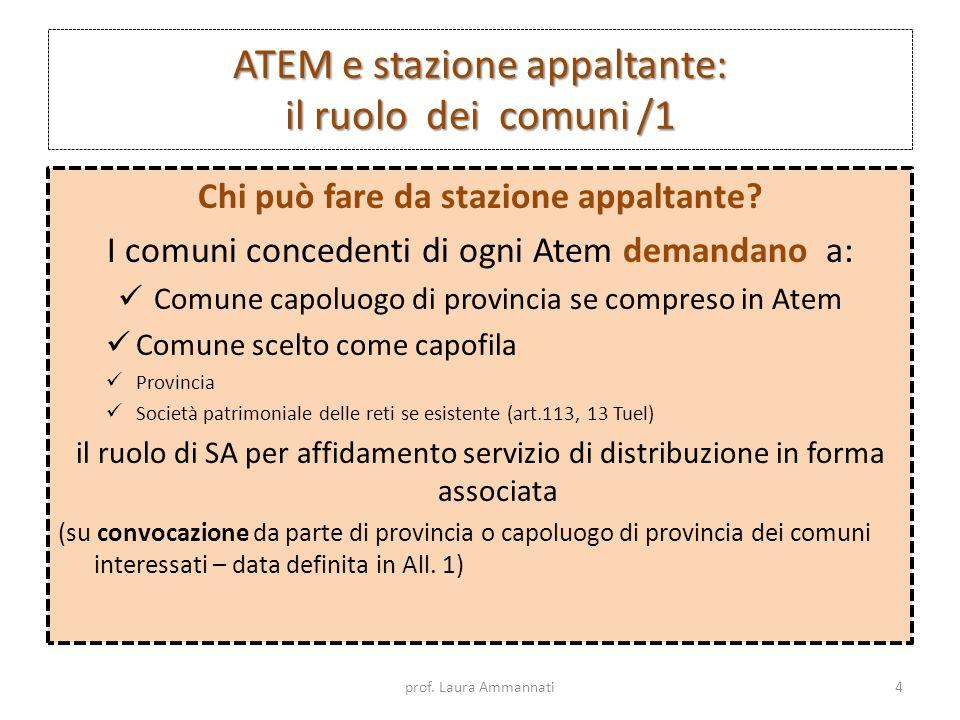 ATEM e stazione appaltante: il ruolo dei comuni /1