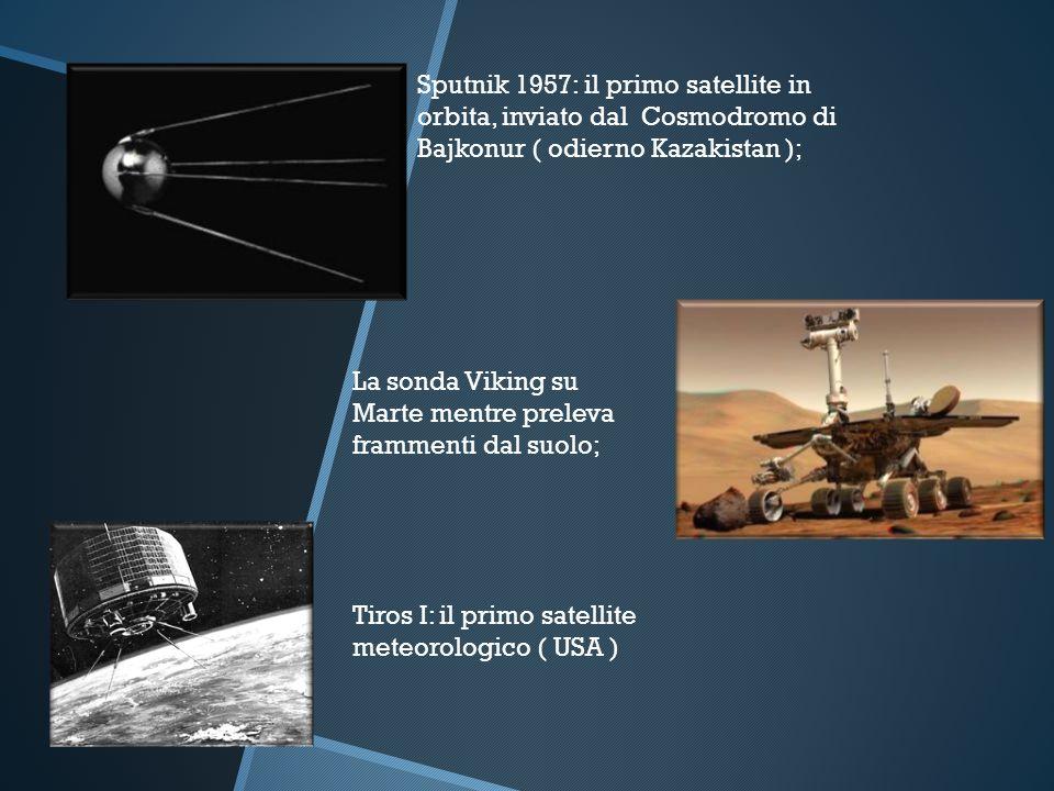 Sputnik 1957: il primo satellite in orbita, inviato dal Cosmodromo di Bajkonur ( odierno Kazakistan );