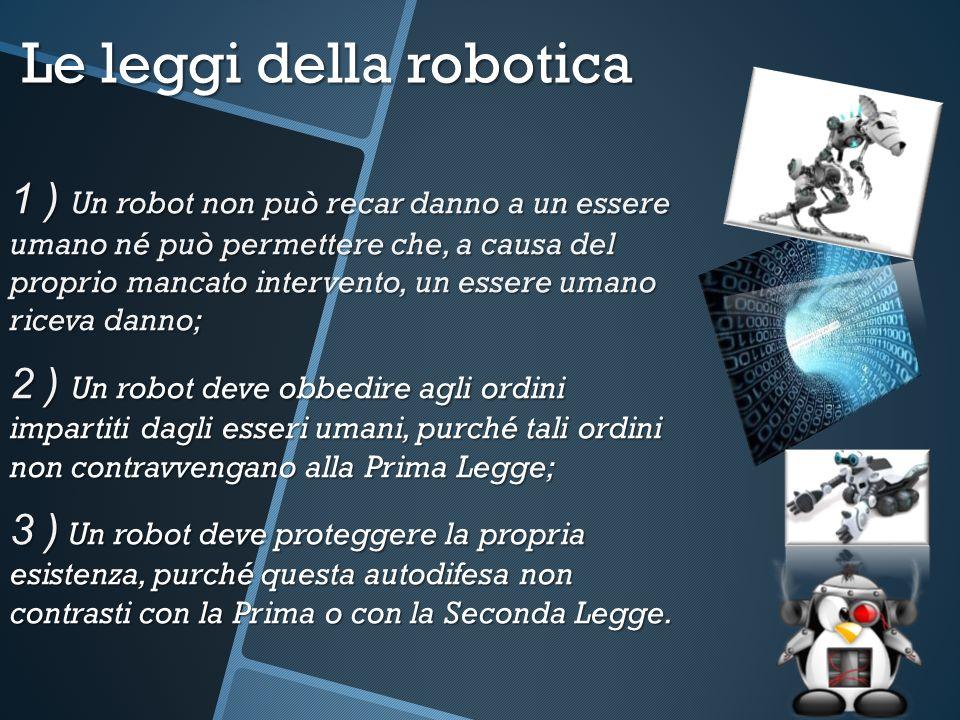 Le leggi della robotica