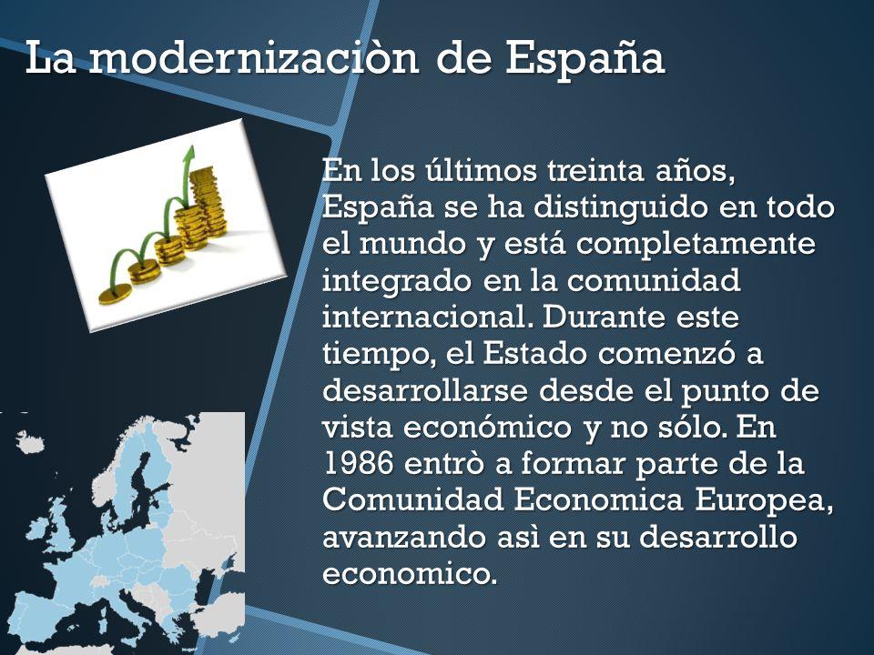 La modernizaciòn de España