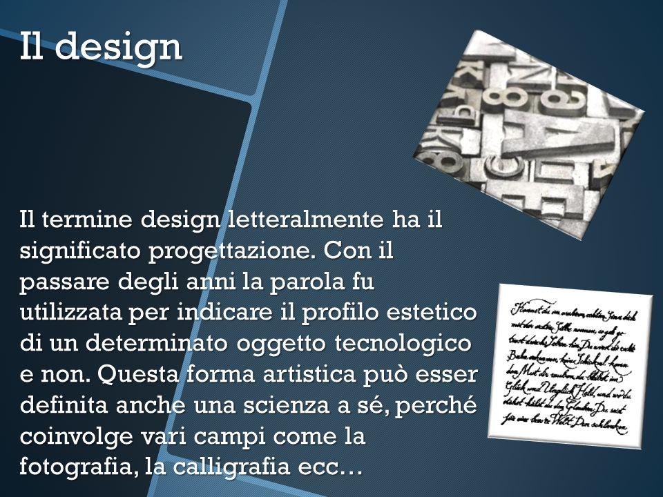 Il design