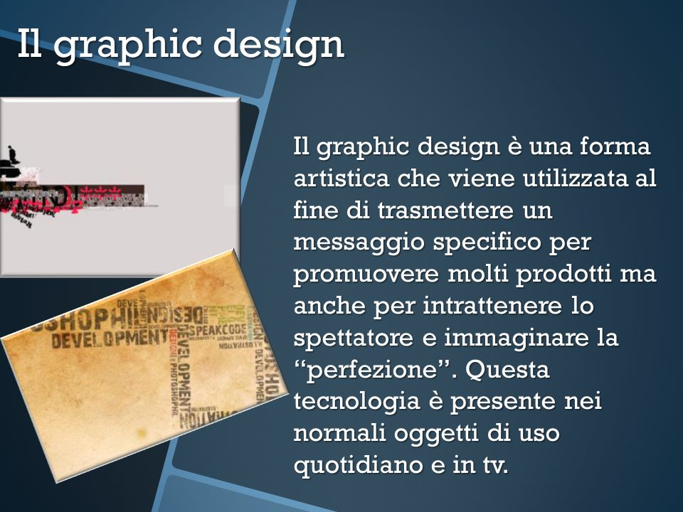 Il graphic design