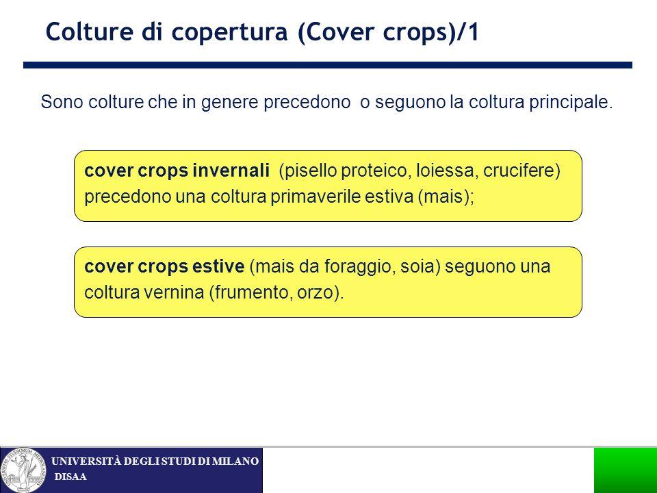 Colture di copertura (Cover crops)/1