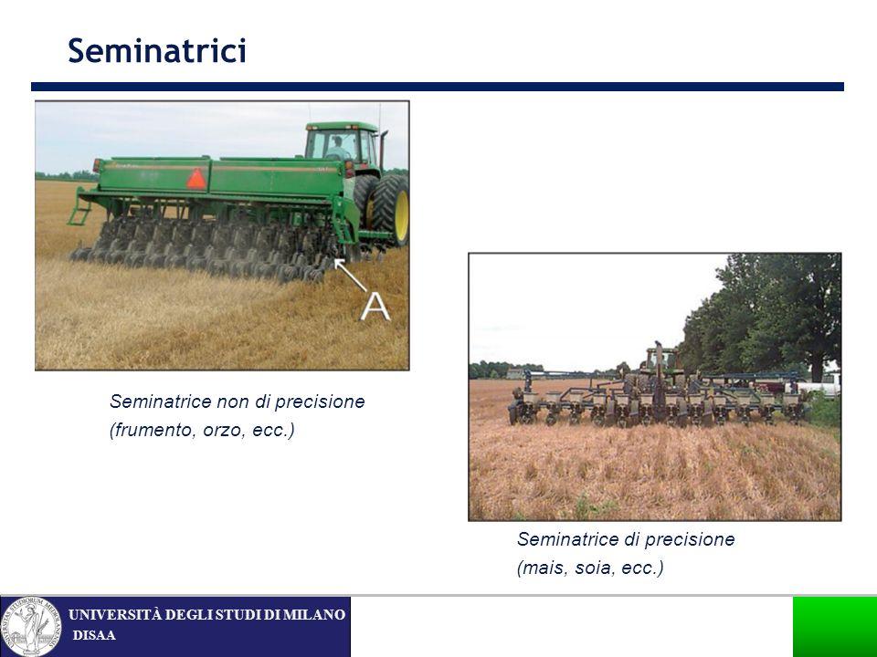 Seminatrici Seminatrice non di precisione (frumento, orzo, ecc.)
