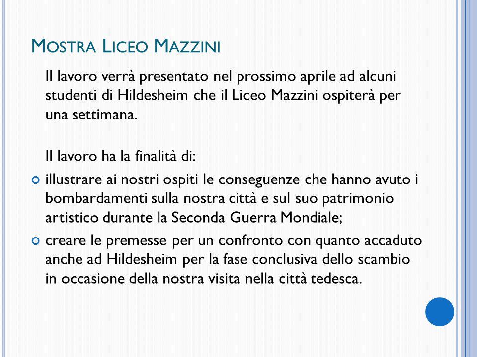 Mostra Liceo Mazzini