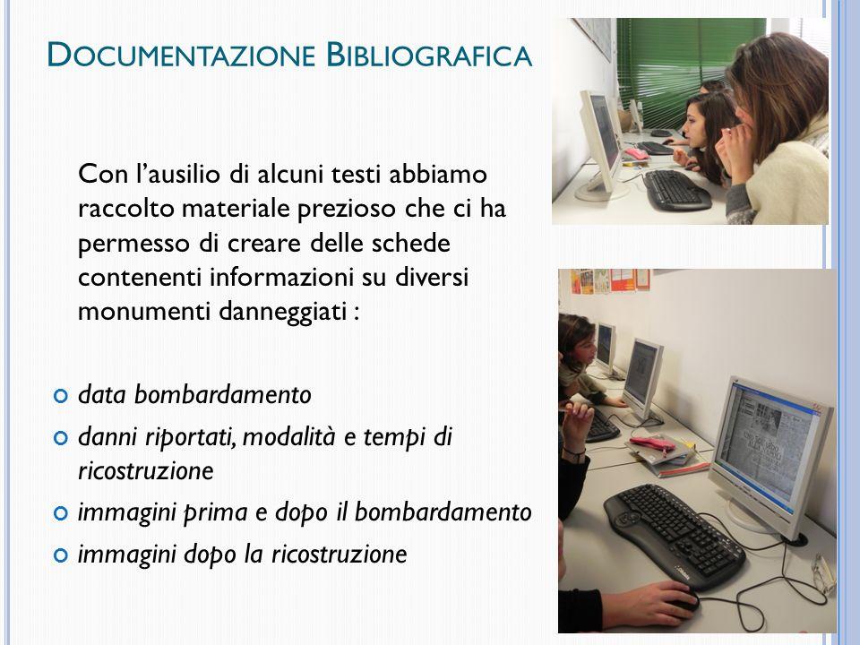 Documentazione Bibliografica