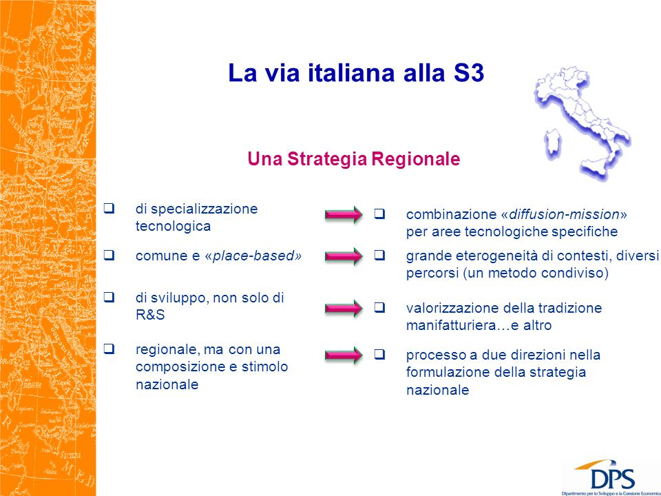 Una Strategia Regionale
