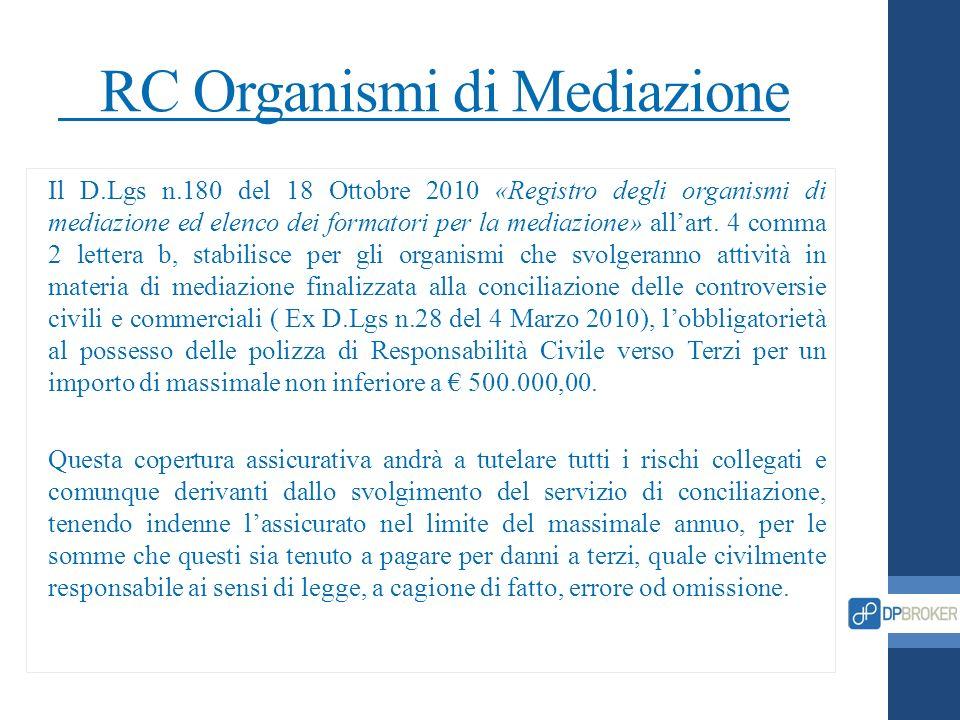 RC Organismi di Mediazione