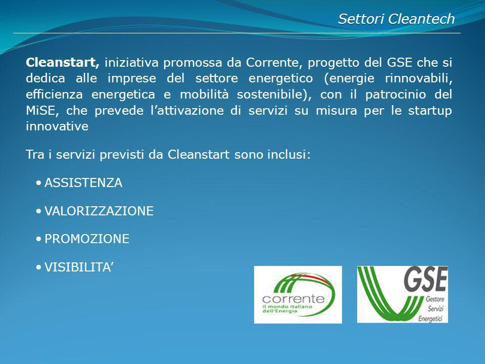 Settori Cleantech