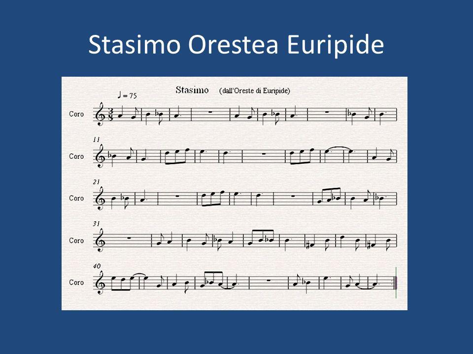 Stasimo Orestea Euripide