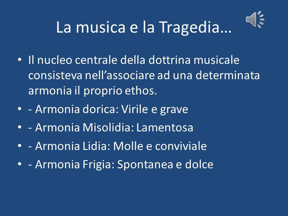 La musica e la Tragedia…