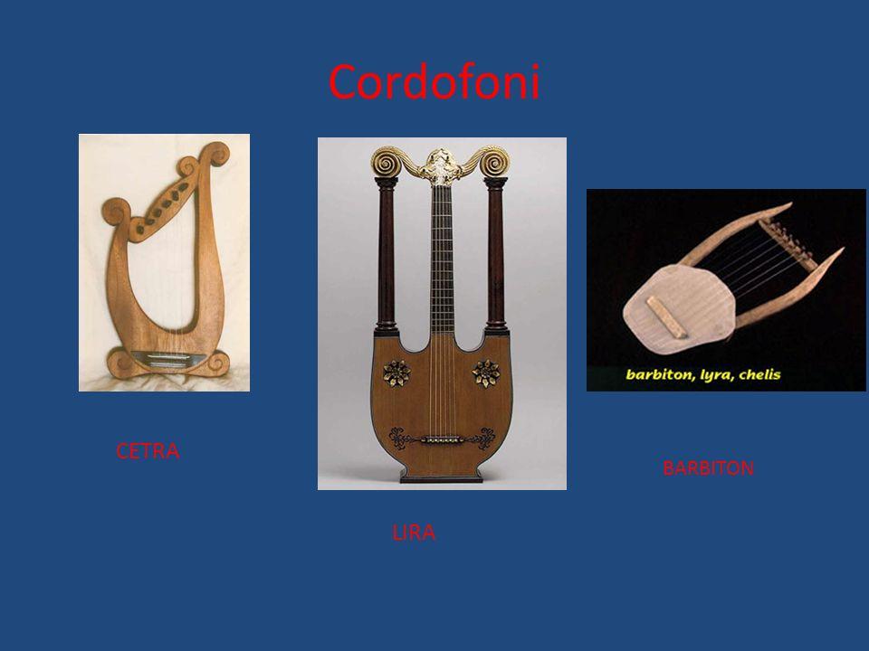 Cordofoni CETRA BARBITON LIRA