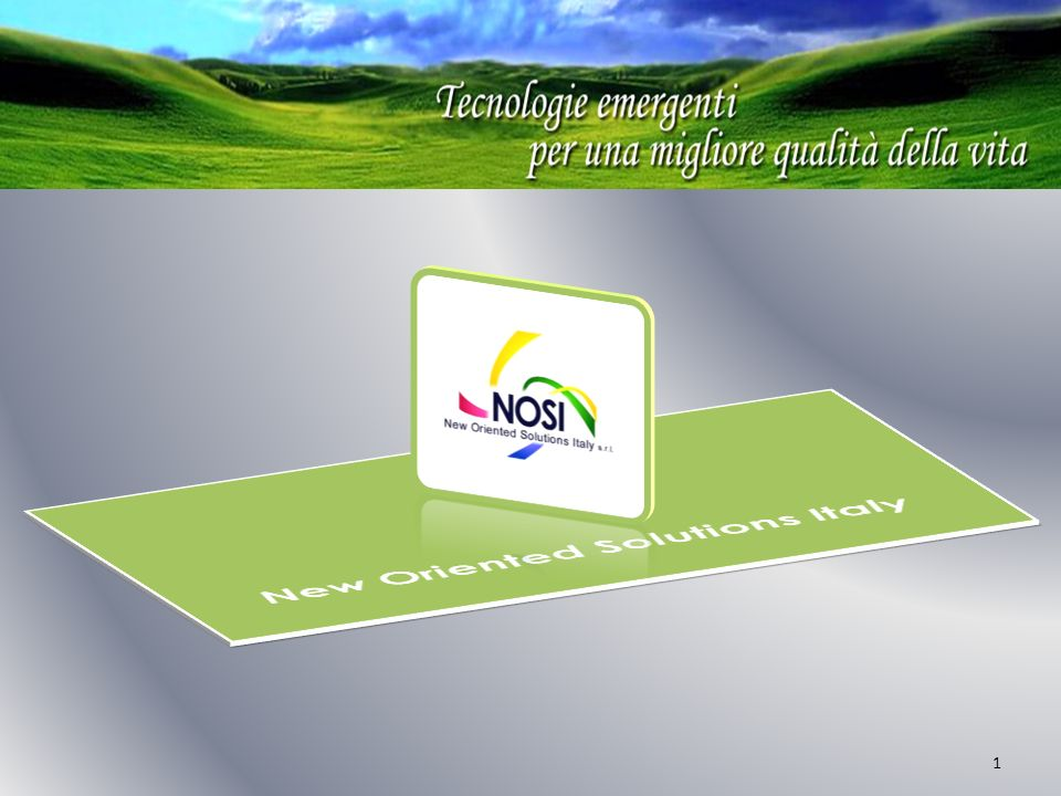 New Oriented Solutions Italy