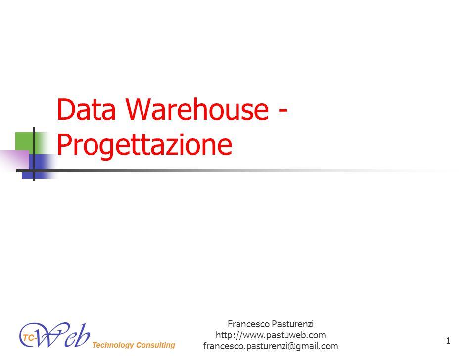 Data Warehouse - Progettazione
