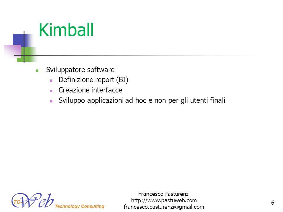 Kimball Sviluppatore software Definizione report (BI)