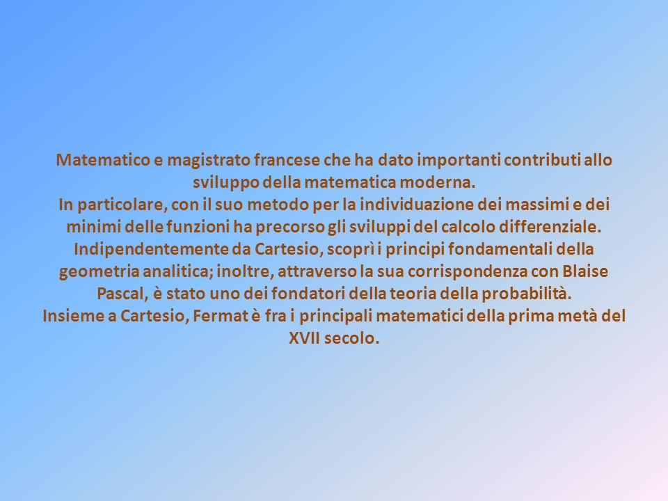Matematico e magistrato francese che ha dato importanti contributi allo sviluppo della matematica moderna.