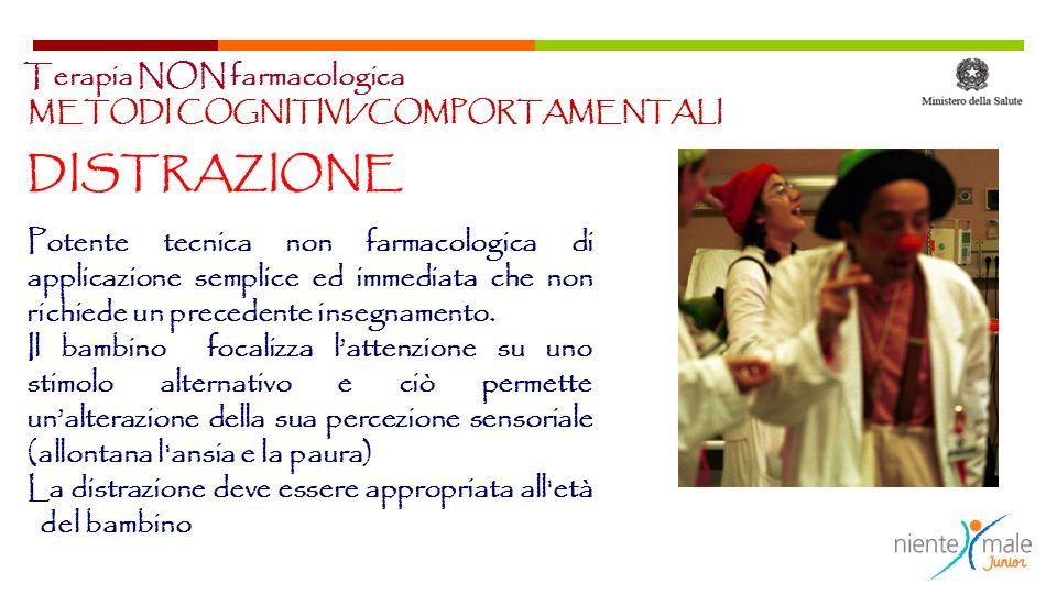 DISTRAZIONE Terapia NON farmacologica