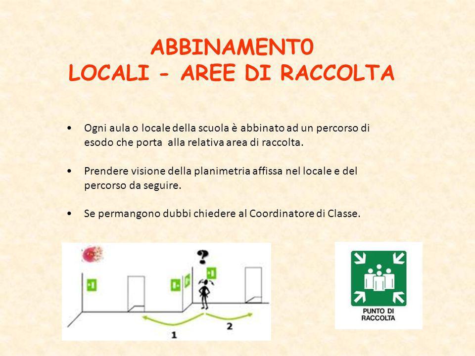 LOCALI - AREE DI RACCOLTA