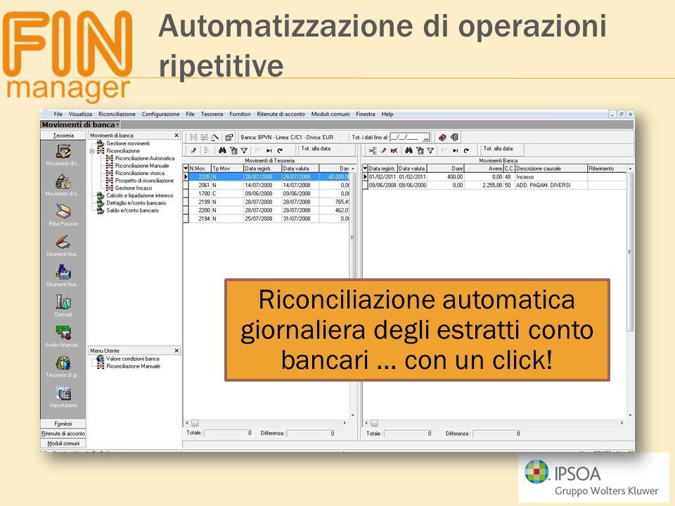Automatizzazione di operazioni ripetitive