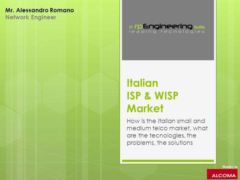 Italian ISP & WISP Market