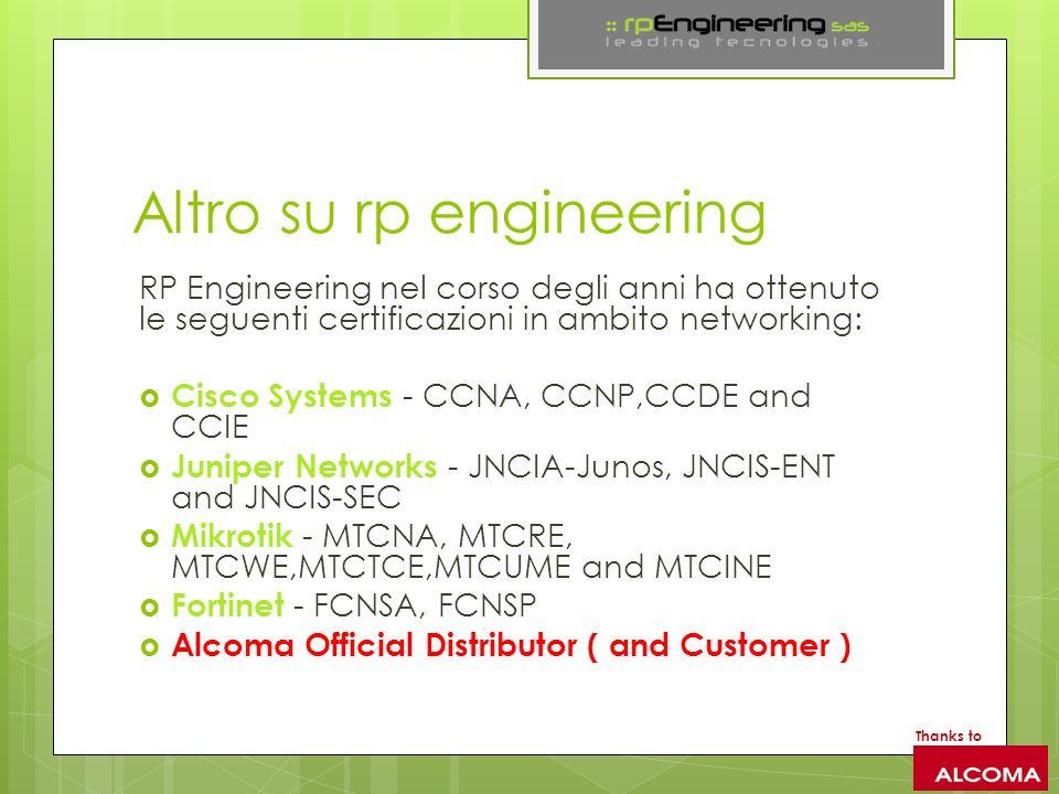 Altro su rp engineering