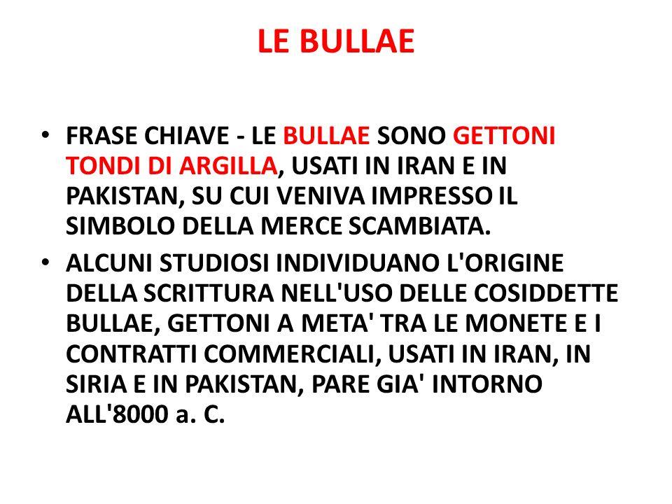 LE BULLAE