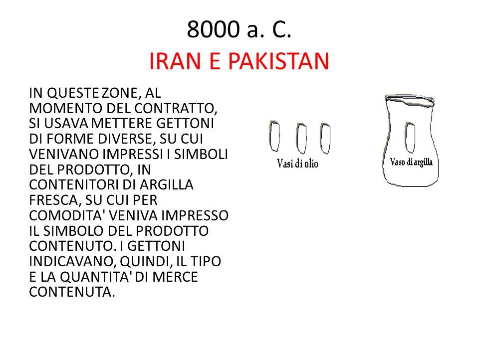 8000 a. C. IRAN E PAKISTAN