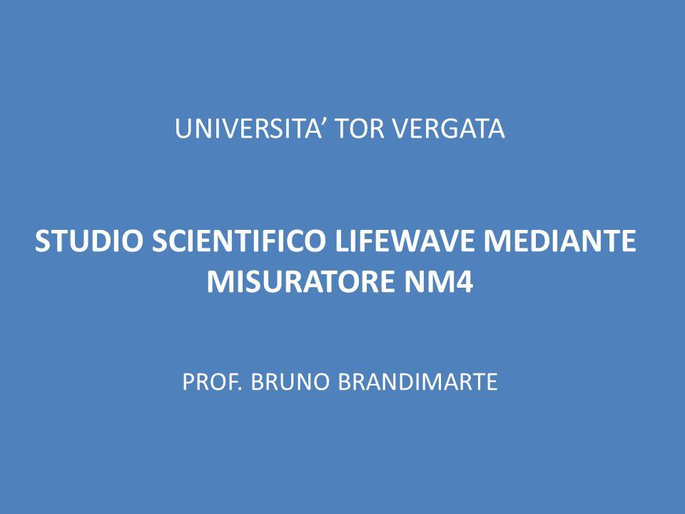 STUDIO SCIENTIFICO LIFEWAVE MEDIANTE