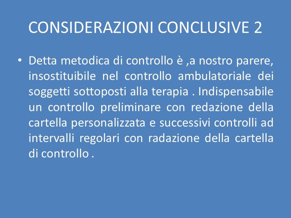 CONSIDERAZIONI CONCLUSIVE 2