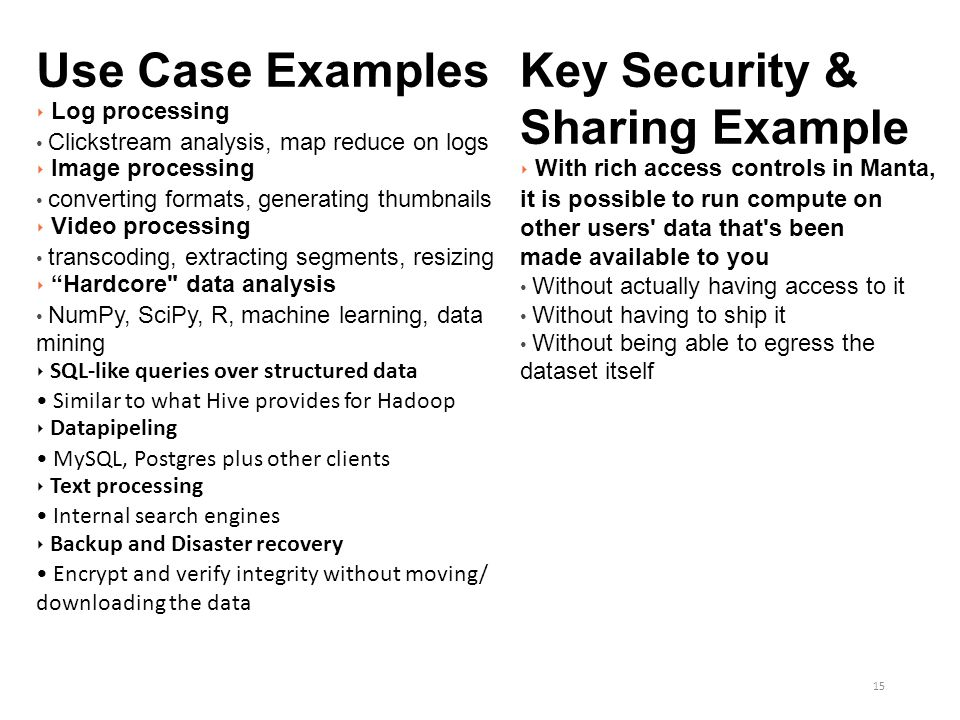 Key Security & Sharing Example