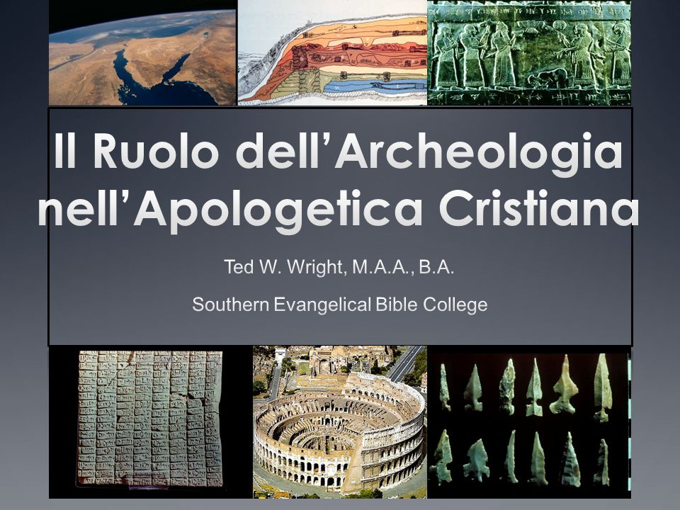 Il Ruolo dell'Archeologia nell'Apologetica Cristiana
