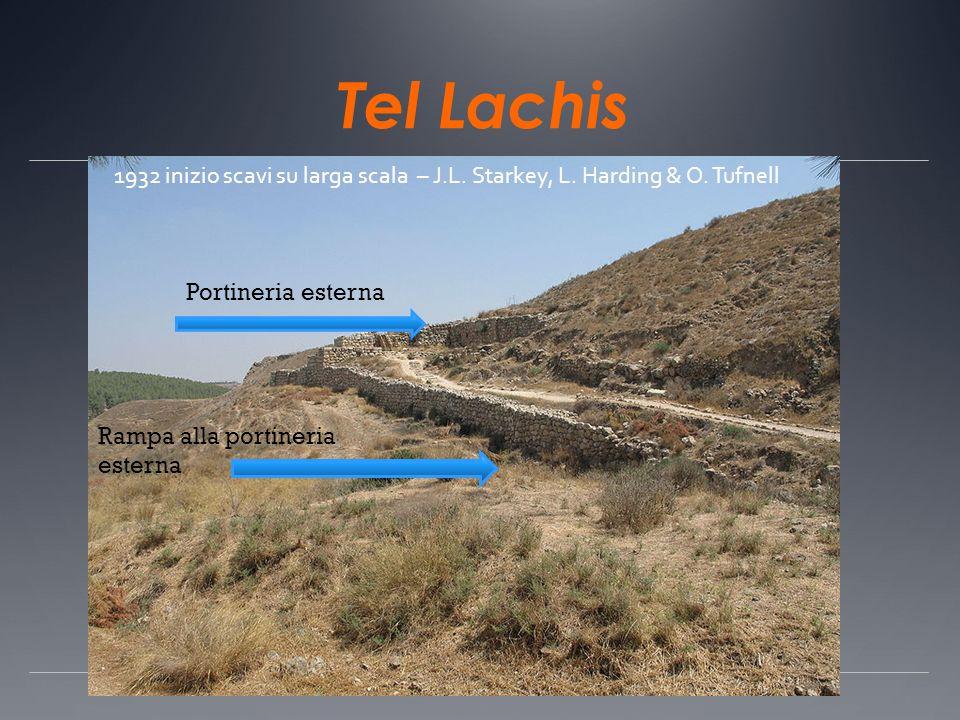 Tel Lachis 1932 inizio scavi su larga scala – J.L. Starkey, L. Harding & O. Tufnell. Portineria esterna.