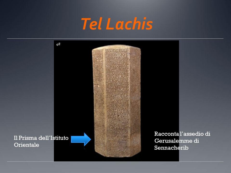 Tel Lachis Racconta l'assedio di Gerusalemme di Sennacherib