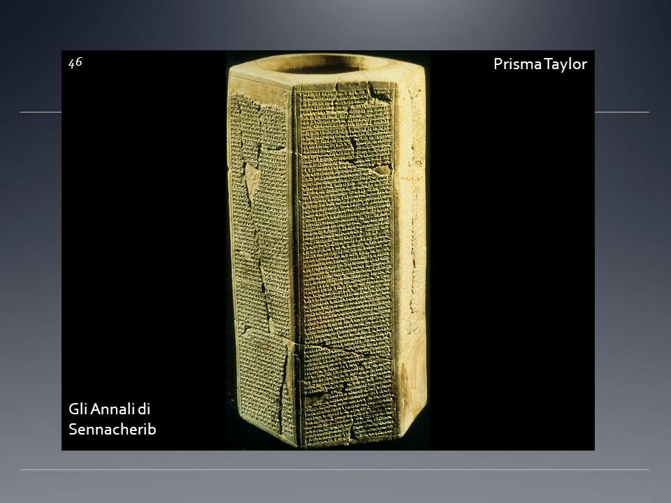 Prisma Taylor Gli Annali di Sennacherib 46