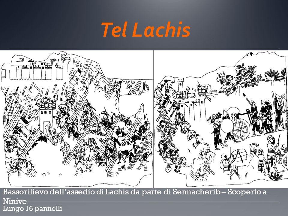 Tel Lachis c. Bassorilievo dell'assedio di Lachis da parte di Sennacherib – Scoperto a Ninive.