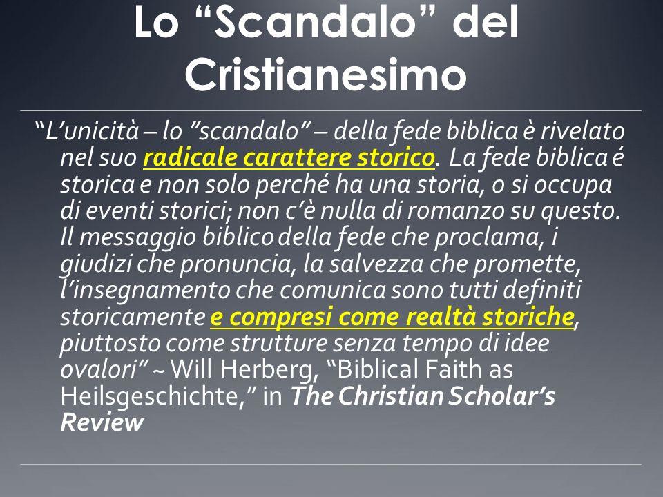 Lo Scandalo del Cristianesimo