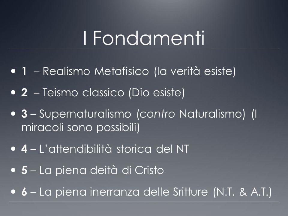 I Fondamenti 1 – Realismo Metafisico (la verità esiste)