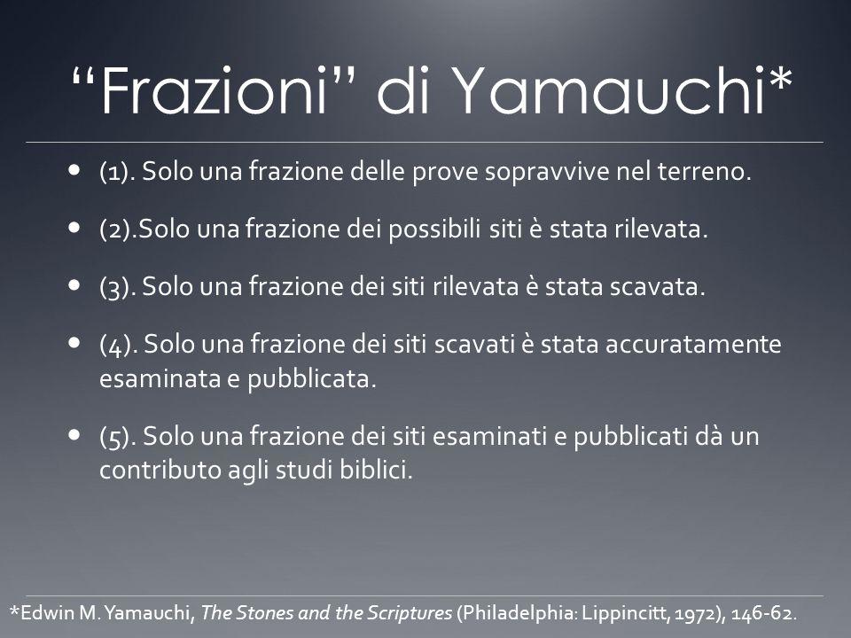 Frazioni di Yamauchi*
