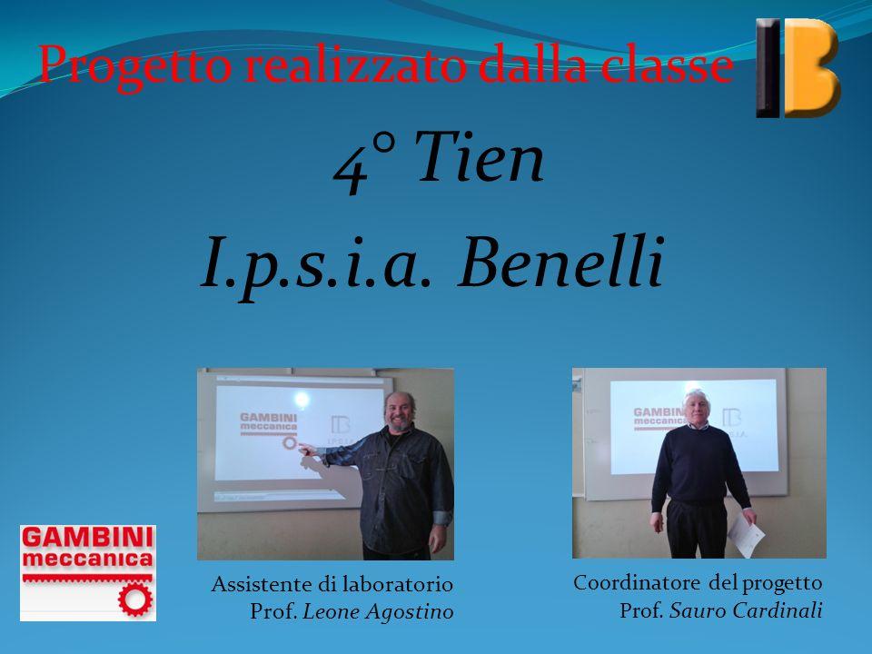 I.p.s.i.a. Benelli 4° Tien Progetto realizzato dalla classe