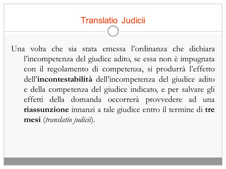 Translatio Judicii