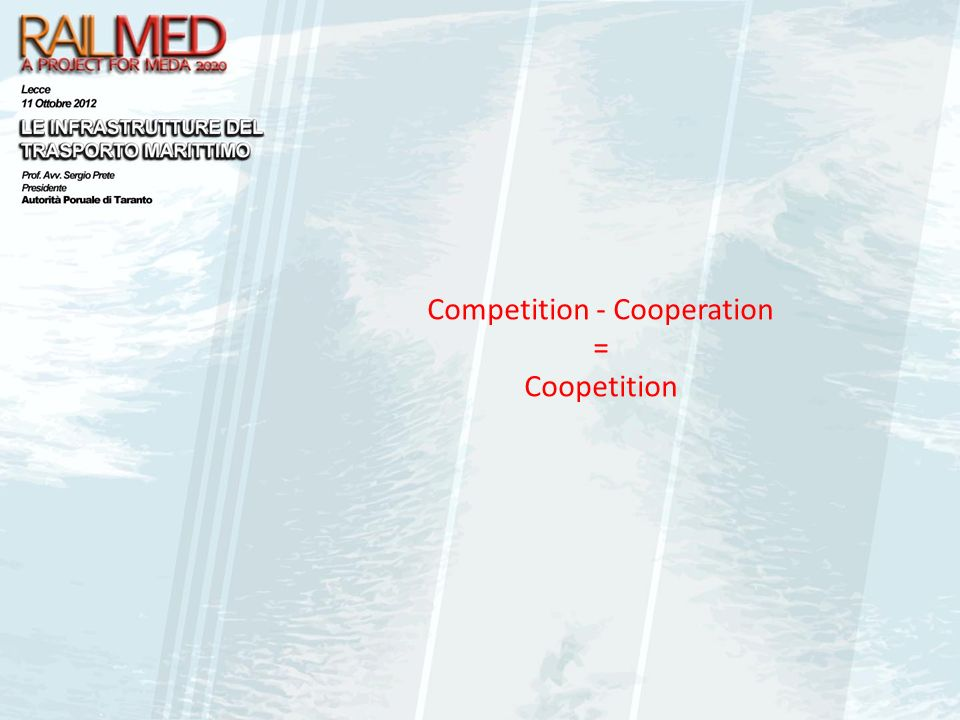 Competition - Cooperation