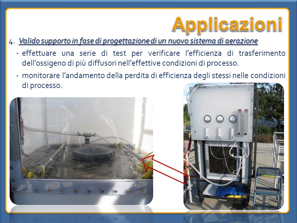 Applicazioni4. Valido supporto in fase di progettazione di un nuovo sistema di aerazione.