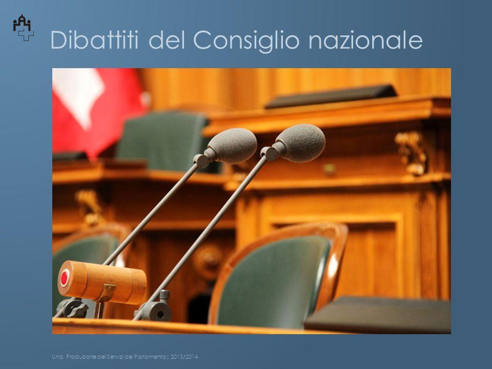 Dibattiti del Consiglio nazionale